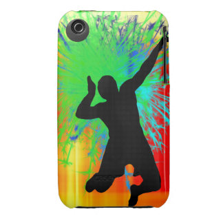 Volleyball Service Fireworks iPhone 3 Cases