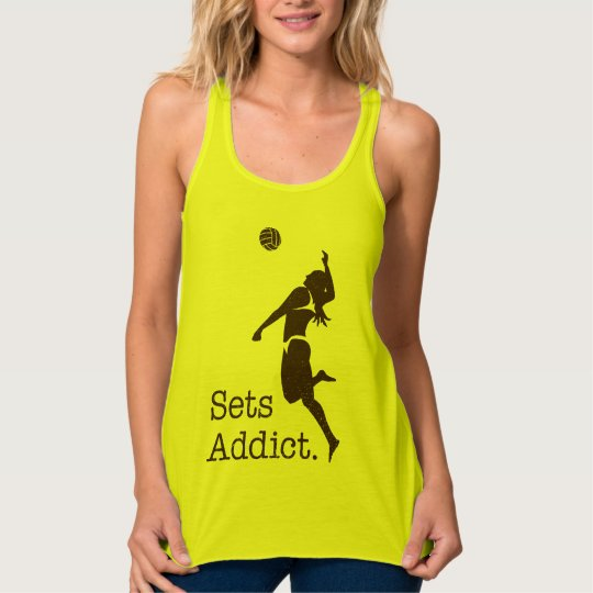 Volleyball Sets Addict Tank Top