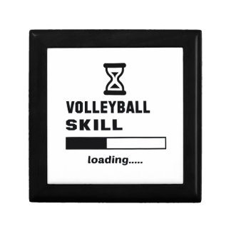 Volleyball skill Loading...... Small Square Gift Box