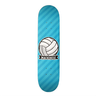 Volleyball; Sky Blue Stripes Skateboards