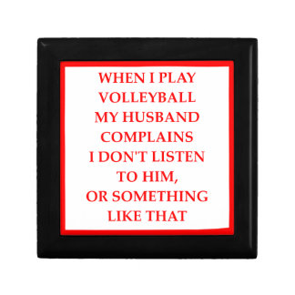VOLLEYBALL SMALL SQUARE GIFT BOX