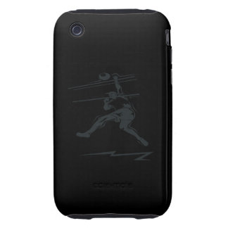 Volleyball Spike Tough iPhone 3 Covers