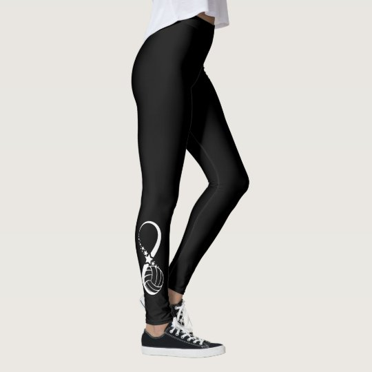 Volleyball Star Infinity Leggings