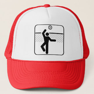 Volleyball Symbol Hat