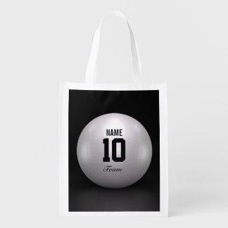 Volleyball Team Reusable Grocery Bag