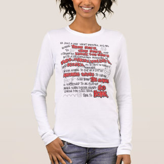 Volleyball Throwdown, Red Long Sleeve T-Shirt