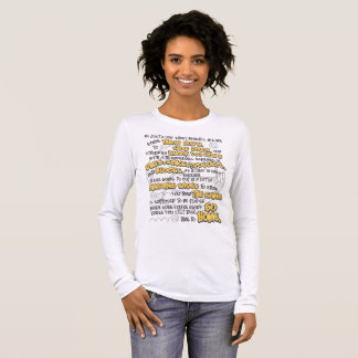 Volleyball Throwdown, Yellow Long Sleeve T-Shirt