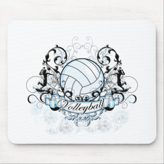Volleyball Tribal Mouse Mat