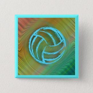 Volleyball Twirl Button