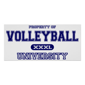 Volleyball University Poster