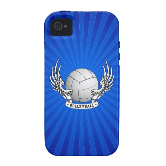 Volleyball Wings iPhone 4 Case