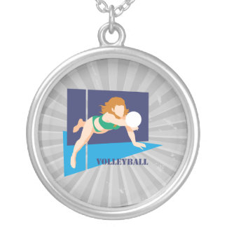 volleyball womens girls pendants