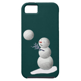Volleyballl Snowman iPhone 5 Cover