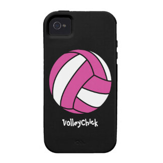 VolleyChick (customizable) Case For The iPhone 4