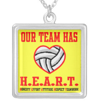 VolleyChick Heart Necklace