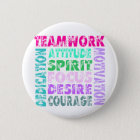 VolleyChick Teamwork 6 Cm Round Badge