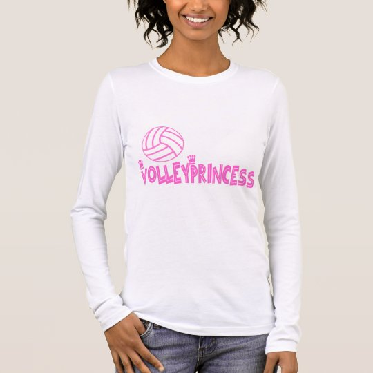 VolleyChick's Princess Long Sleeve T-Shirt