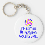VolleyChick's Rather Key Chain