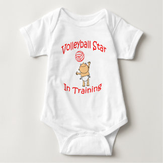 VolleyChick's VolleyBaby Baby Bodysuit