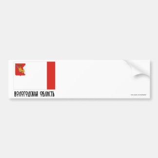 Vologda Oblast Flag Bumper Sticker