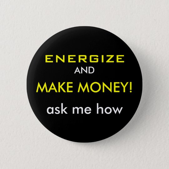 "Volt ""Energise & Make Money"" Button"