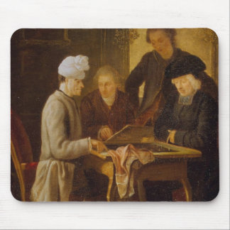 Voltaire at Chess Mouse Mat