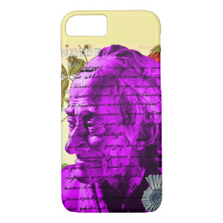 Voltaire Writer Philosopher Paris France Shell iPhone 7 Case