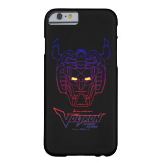 Voltron | Blue-Red Gradient Head Outline Barely There iPhone 6 Case