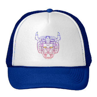 Voltron | Blue-Red Gradient Head Outline Cap