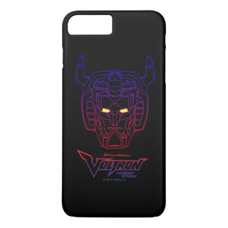 Voltron | Blue-Red Gradient Head Outline iPhone 8 Plus/7 Plus Case