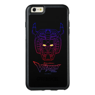 Voltron | Blue-Red Gradient Head Outline OtterBox iPhone 6/6s Plus Case