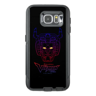 Voltron | Blue-Red Gradient Head Outline OtterBox Samsung Galaxy S6 Case