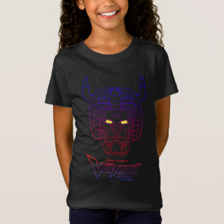 Voltron | Blue-Red Gradient Head Outline T-Shirt