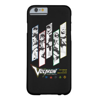 Voltron | Classic Pilots Halftone Panels Barely There iPhone 6 Case