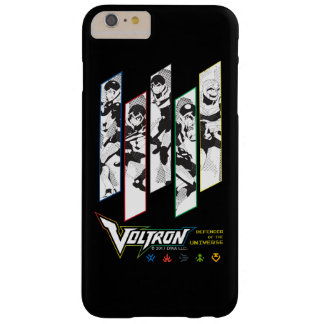 Voltron | Classic Pilots Halftone Panels Barely There iPhone 6 Plus Case