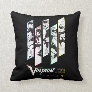 Voltron | Classic Pilots Halftone Panels Cushion
