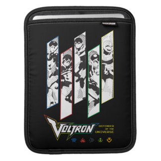 Voltron | Classic Pilots Halftone Panels iPad Sleeve