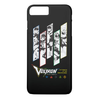 Voltron | Classic Pilots Halftone Panels iPhone 7 Plus Case