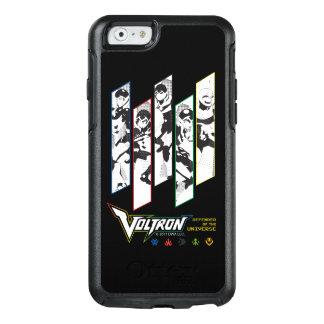 Voltron | Classic Pilots Halftone Panels OtterBox iPhone 6/6s Case