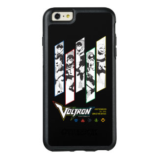 Voltron | Classic Pilots Halftone Panels OtterBox iPhone 6/6s Plus Case