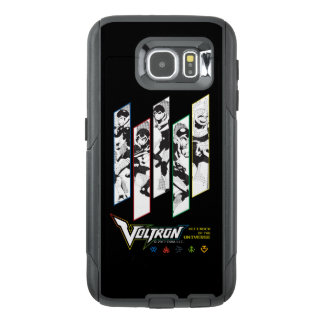 Voltron | Classic Pilots Halftone Panels OtterBox Samsung Galaxy S6 Case