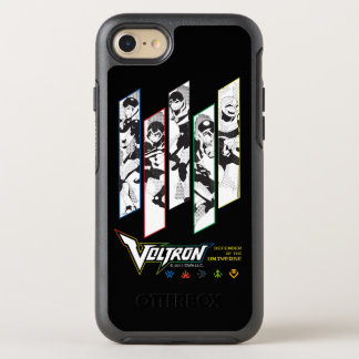 Voltron | Classic Pilots Halftone Panels OtterBox Symmetry iPhone 7 Case