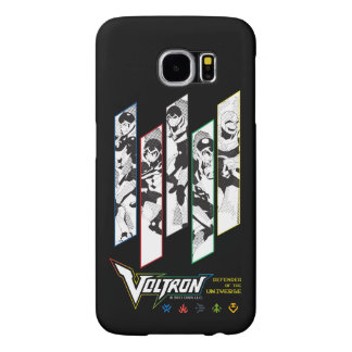 Voltron | Classic Pilots Halftone Panels Samsung Galaxy S6 Cases