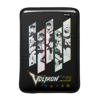 Voltron | Classic Pilots Halftone Panels Sleeve For MacBook Air
