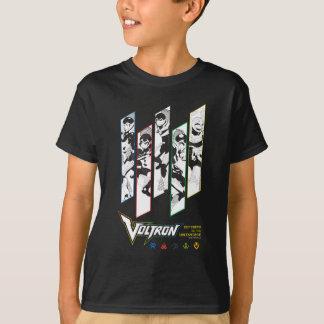 Voltron | Classic Pilots Halftone Panels T-Shirt