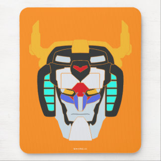 Voltron | Colored Voltron Head Graphic Mouse Mat