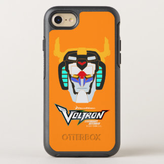 Voltron | Colored Voltron Head Graphic OtterBox Symmetry iPhone 8/7 Case