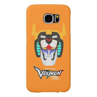 Voltron | Colored Voltron Head Graphic Samsung Galaxy S6 Cases