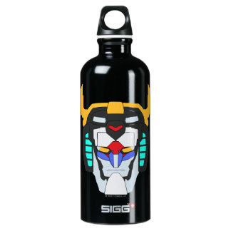 Voltron | Colored Voltron Head Graphic Water Bottle