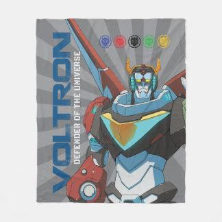 Voltron | Defender of the Universe Fleece Blanket